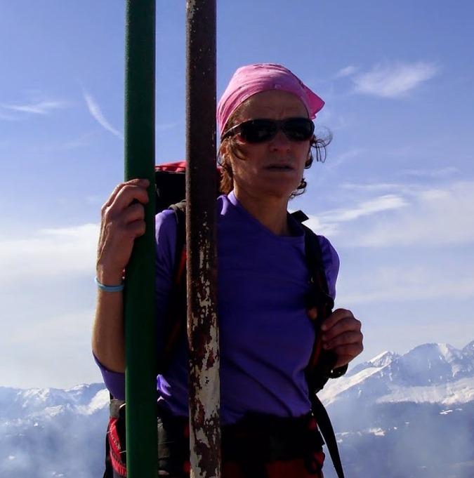 Mª José Caballero - Alpinista